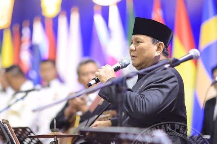 Menteri Pertahanan, Prabowo Subianto masuk dalam daftar 10 pejabat negara terkaya