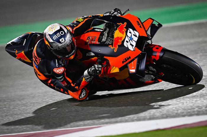 Pabrikan KTM melempem saat tampil di tes pramusim MotoGP 2021 di Qatar, Miguel Oliveira beberkan alasannya