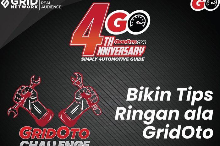 Challenge 4nniversary ke-4 Gridoto