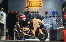 XMAX Pakai Warna Macchiato, Konsep Sporty Elegant, Mesin 344 Cc!