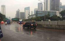 Belum Tertangkap, Jambret Pakai Honda CBR dan Pakaian Serbahitam Bolak-Balik Beraksi Di Jalan Jenderal Sudirman