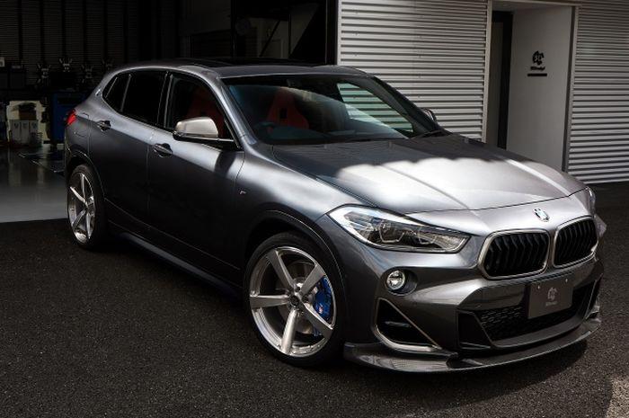 Modifikasi BMW X2 tampil lebih agresif hasil garapan 3D Design