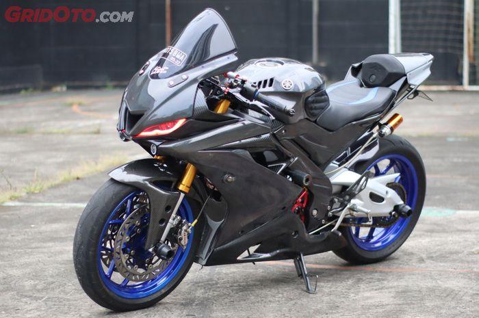 Yamaha R15 VVA berubah tampang ala Yamaha R6, habiskan biaya Rp 35 jutaan!