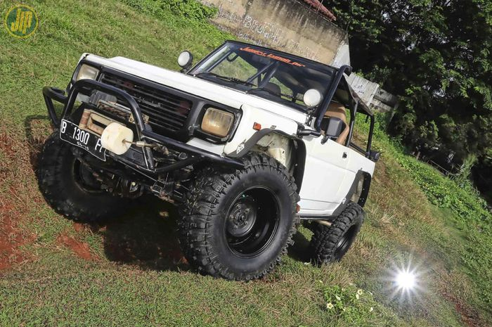 Rocky off-road