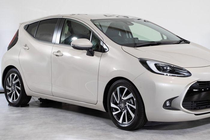 Toyota Aqua meluncur di Jepang (19/7).
