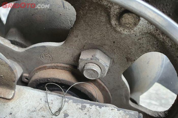 Bosh gear oblak sering jadi penyebab rantai Honda Tiger berisik