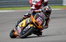 Hasil Balap Moto2 Emilia Romagna 2021 - Sam Lowes Raih Kemenangan, Raul Fernandez Kecelakaan Parah, SKY Racing Team VR46 Kompetitif