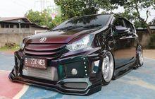 Toyota Agya Modifikasi Ektrem, Mesin Ditanam Turbo, Interior Ala Mini Bar