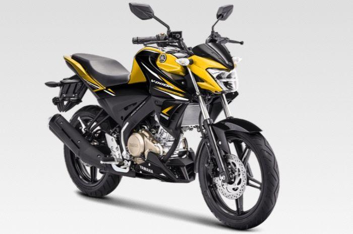 Warna baru Yamaha All New V-Ixion Metalic Yellow