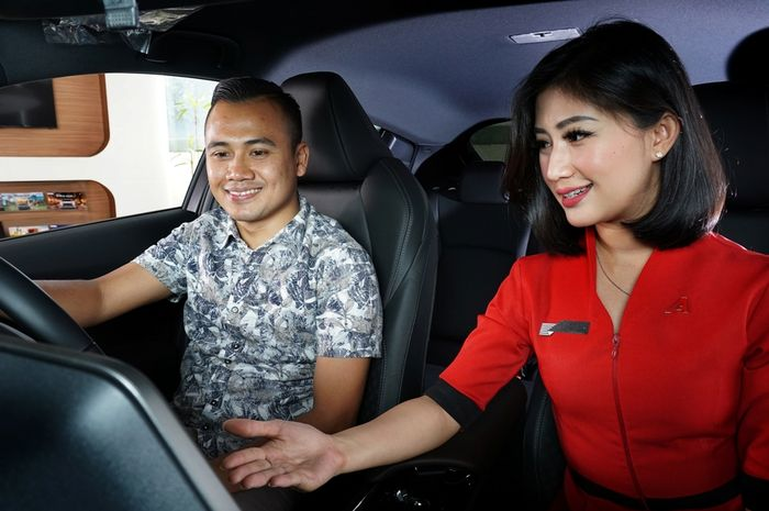 Ilustrasi program pembelian mobil baru Toyota saat insentif PPnBM 0 persen