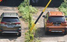 Adu Nyaman Xpander Cross Vs Toyota Rush, Jajal Ayunan Suspensi di Tanjakan Ekstrem dan Tikungan