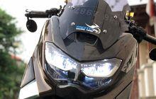 Dipasang Headlamp Milik New NMAX, Wajah Yamaha NMAX Lawas Jadi Segar, Segini Biayanya