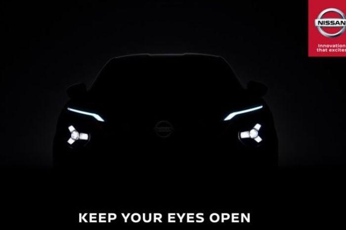 Nissan resmi rilis teaser Juke baru