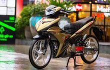 Yamaha MX King 150 Berjubah Warna Tembaga, Kaki-kakinya Istimewa