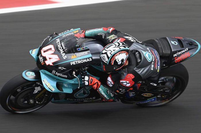 Jajal motor Yamaha setelah 8 Tahun Bela Ducati, Andrea Dovizioso berikan komentar usai hari pertama MotoGP San Marino 2021