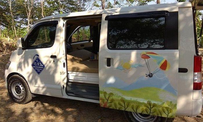 Kebanyak pengguna Gran Max ubah kabin mobilnya sendiri (DIY)