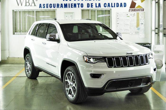Modifikasi Jeep Grand Cherokee kebal peluru besutan FCA Mexico