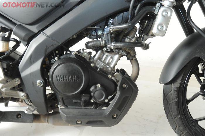 Mesin XSR 155 lebih modern karena dibekali VVA, radiator, transmisi 6 percepatan, hingga assist & slipper clutch