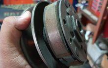 Kampas Ganda Motor Matic Habis Tidak Rata, Ternyata Ini Pemicunya