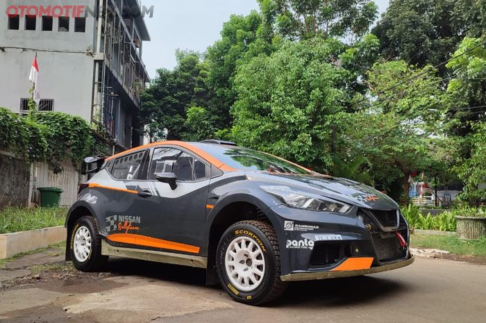 Nissan Micra Proto siap ramaikan reli di Indonesia