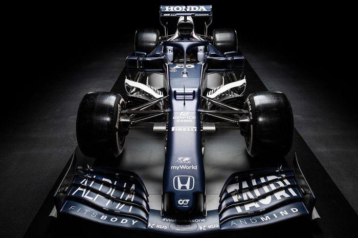 Tim AlphaTauri sudah melakukan launching tim, ini mobil baru AT02 yang akan dipakai di F1 2021 oleh Pierre Gasly dan Yuki Tsunoda