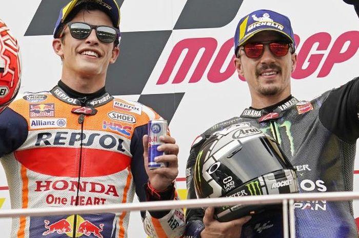 Maverick Vinalesbelum menentukan masa depannya di MotoGP setelah tinggalkan Yamaha, begini tanggapan Marc Marquez