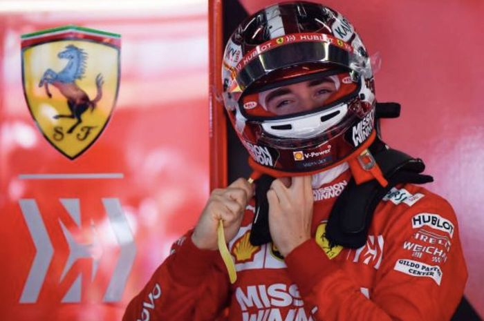 Pembalap Ferrari,Charles Leclerc yakin gaya balapnya berbeda dengan rekan satu timnya, Sebastian Vettel