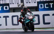 Andrea Dovizioso Masih Belum Dapat Feeling dengan Yamaha YZR-M1, Sebut Posisi Duduknya Kurang Nyaman