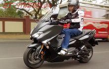 Bodi Gede, Mesin 530 Cc, Tapi Yamaha TMAX DX Lebih Irit Bensin Ketimbang Motor 250 cc