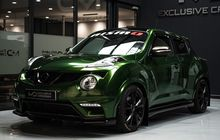 Modifikasi Nissan Juke. Tampil Keren Dengan Warna Nyentrik