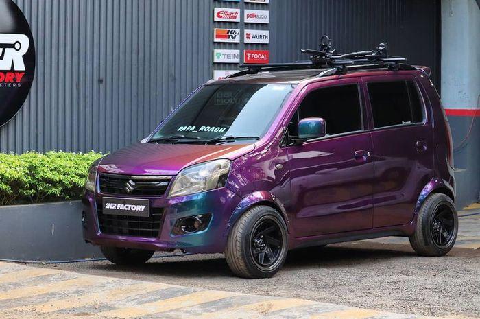 Modifikasi Suzuki Karimun Wagon R tampil anti mainstream dan unik