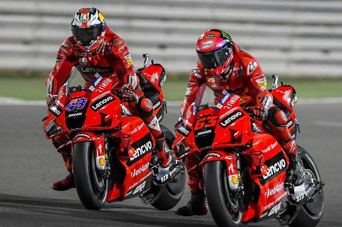 Gagal meraih kemenangan di dua balapan Qatar meski motor melesat seperti roket, Bos Ducati komentar begini