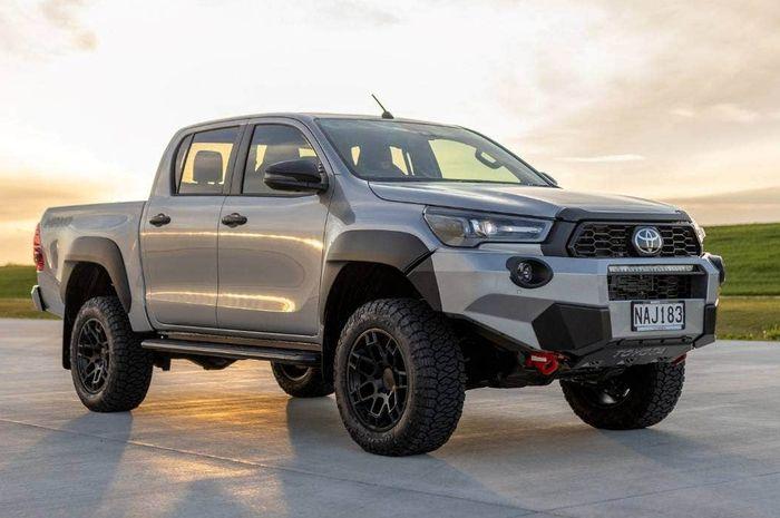 Referensi Modifikasi Toyota Hilux Mako Dengan Gaya Off Road Kental Gridoto Com