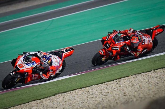 Francesco Bagnaia mengaku tidak terkejut melihat Johann Zarco bisa menempati peringkat kedua klasemen sementara pembalap MotoGP 2021
