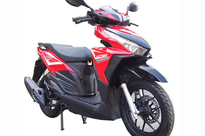 Penampakan Chongqing Motorcycle Happy 150