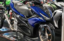 Tampil Proper, Yamaha Aerox Ini Gendong Mesin Bore Up, Begini Speknya