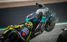 Sekali Pembalap MotoGP Jatuh, Miliaran Rupiah Melayang, Ini Rincian Biaya Perbaikan Motornya