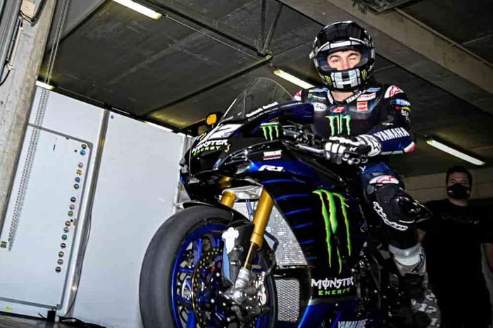Colong Start, Maverick Vinales dapat kesempatan untuk latihan di sirkuit Jerez, Spanyol bareng pembalap WSBK