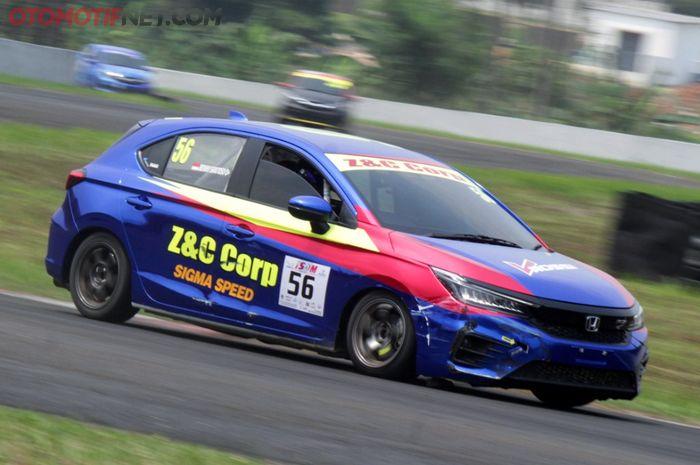 Honda City Hatchback pertama yang ikut balap turing
