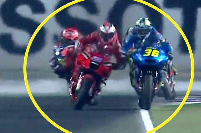 Dituding sengaja senggol Joan Mir pada balapan MotoGP Doha 2021, Jack Miller memberikan pembelaan soal insiden tersebut