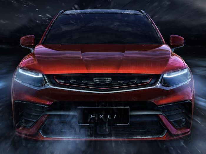 Geely FY11 SUV Coupe tampak depan