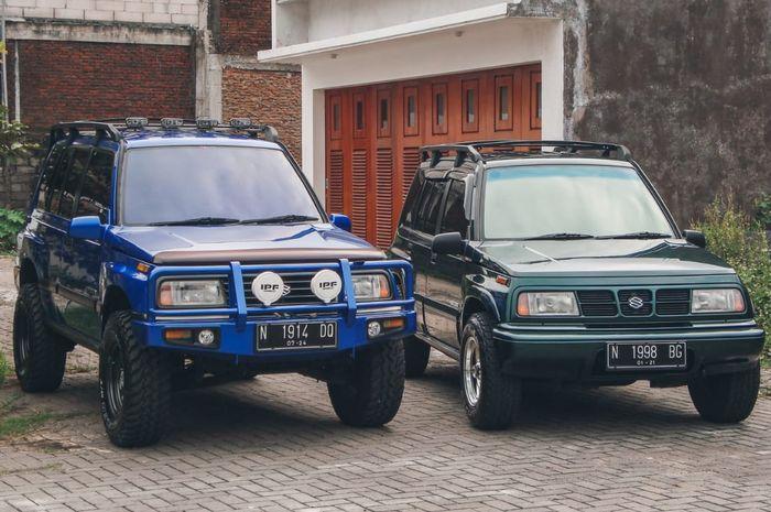Suzuki Vitara dan Suzuki Escudo, beda tampang beda cerita tapi satu pemilik