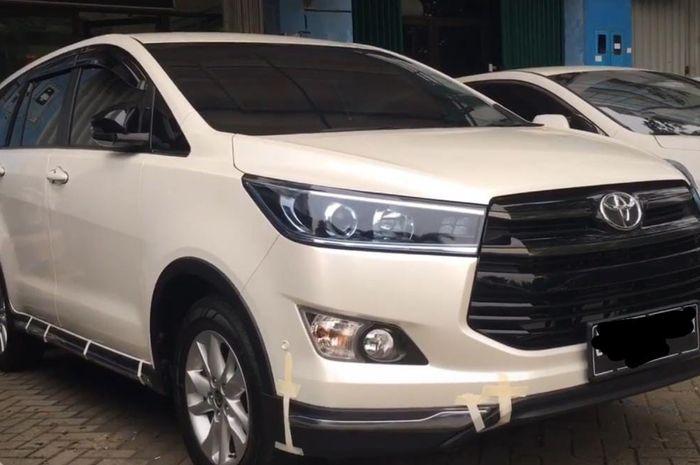 Toyota Kijang Innova Reborn upgrade body kit Venturer di Automania