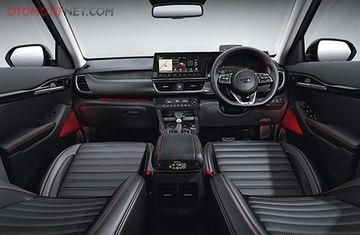 Kia Seltos Versi Indonesia Bermesin Bensin 1 400 Cc Turbo Transmisi 7dct Fitur Melimpah Gridoto Com