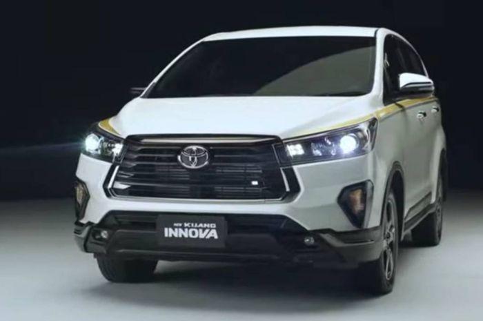 Ilustrasi Toyota Kijang Innova Limited Edition 50th