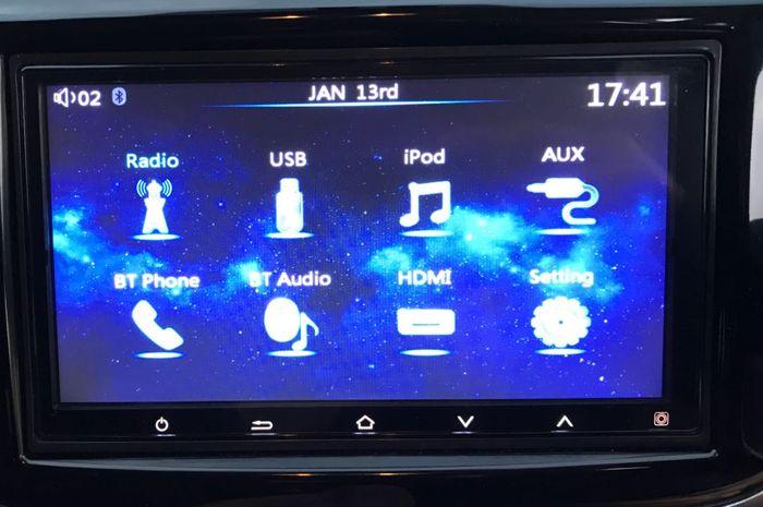 Ilustrasi fitur audio pada mobil