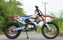 Tampil Total, Modifikasi Yamaha RX-King Ini Layaknya Motocross
