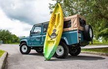 Land Rover Defender D110 Gaya Anak Pantai, Tetap Klasik Tapi Fresh