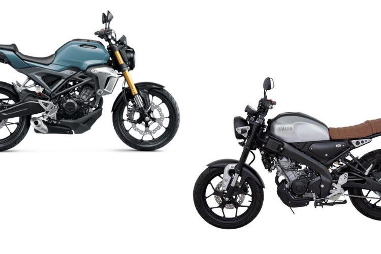 Hasil Komparasi Yamaha Xsr155 Vs Honda Cb150r Exmotion Unggul Mana Gridoto Com