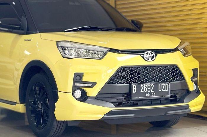 Toyota Raize 1.0T GR CVT TSS Two Tone bekas